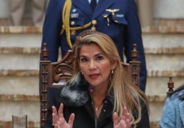 Áñez afirmó que la convocatoria tendrá el acompañamiento de organismos internacionales. FOTO: EFE