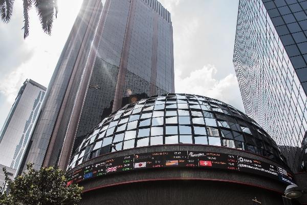 Bolsa Mexicana de Valores (BMV), ubicada en Avenida Paseo de la Reforma. FOTO: CUARTOSCURO