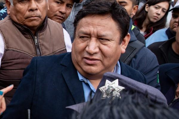 Armando Portuguez Fuentes, alcalde de Tultepec. Foto: Cuartoscuro