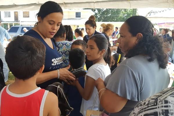 Jornada asistencial realizada en Altamira. Foto: Especial