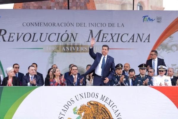 Francisco Cabeza de Vaca, gobernador de Tamaulipas. Foto: @fgcabezadevaca