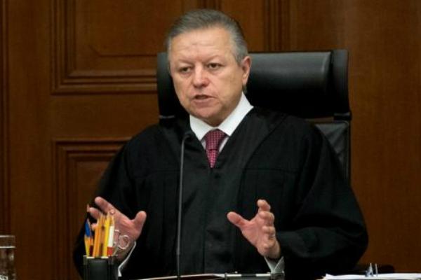 Arturo Zaldívar,  presidente de la Suprema Corte de Justicia de la Nación. Foto: Especial.