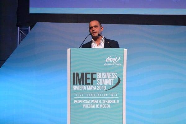Fernando López Macari, presidente del IMEF. Foto: ESPECIAL