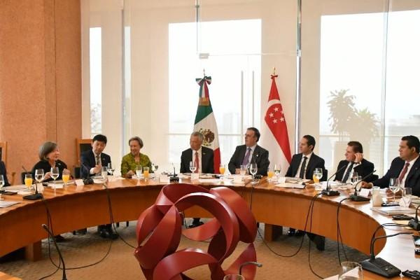 Entre México y Singapur hay principios comunes como la apertura comercial, la solidaridad y el respeto. Foto: Especial