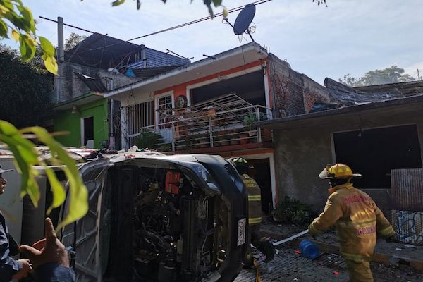 No habrá clases en dos escuelas de Oaxaca tras explosión de panadería