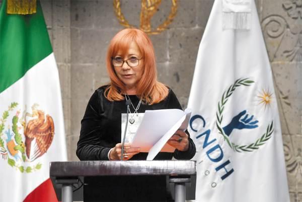 RENUEVA. La ombudsperson aseguró ayer que regresará la comisión al pueblo. Foto: Pablo Salazar Solís.