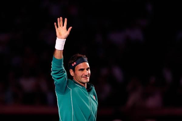 FELIZ. El tenista suizo estuvo menos de 24 horas en México. Anoche viajó a Quito, Ecuador. Foto: AP
