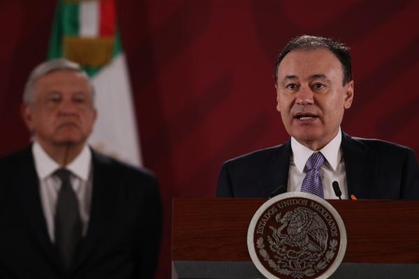 Alfonso Durazo explicó que el caso está en control de la SSPC.FOTO: Cuartoscuro