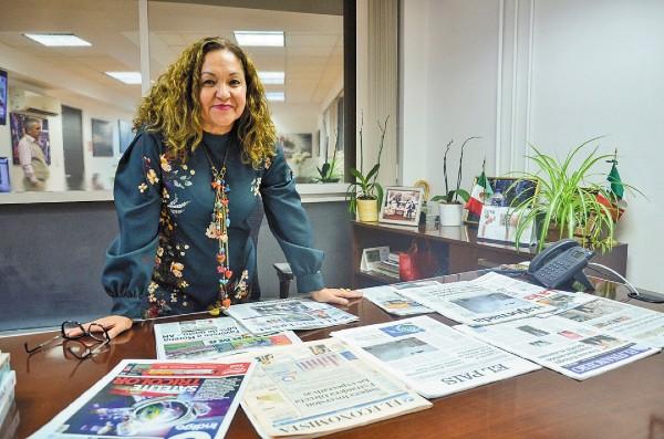 VISIÓN. Sanjuana Martínez busca nuevos retos para la Agencia de Noticias del Estado Mexicano. Foto: Especial