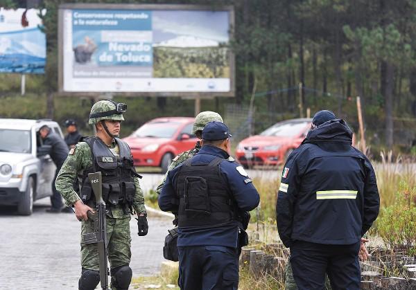 PATRULLAJES. Los operativos van a ser permanentes en el Nevado de Toluca y el Iztaccíhuatl. Foto: Cuartoscuro