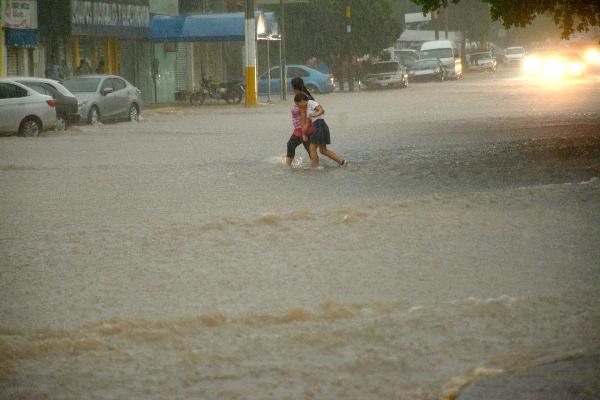 Fuertes lluvias en Sinaloa. Foto: Cuartoscuro