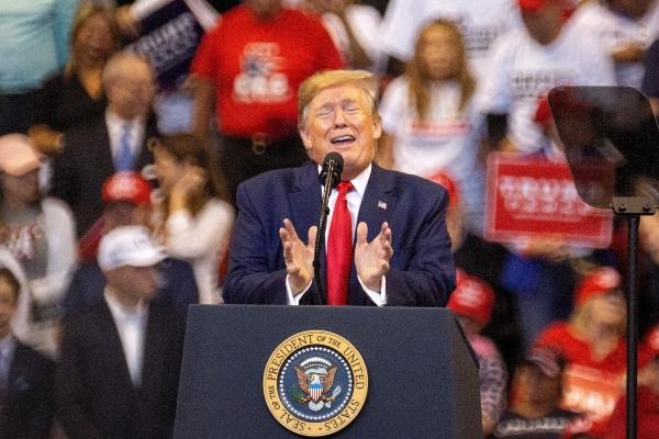 El presidente de Estados Unidos, Donald Trump. Foto: EFE