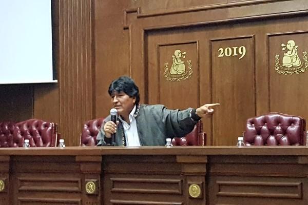 Evo Morales, expresidente de Bolivia. Foto: Especial