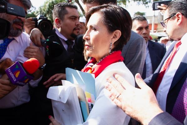 Rosario Robles, ex titular de Sedesol y Sedatu.  FOTO: ROGELIO MORALES /CUARTOSCURO.COM
