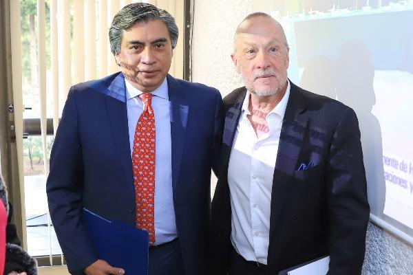 Los economistas Gerardo Esquivel y Jonathan Heath. Foto: Cuartoscuro