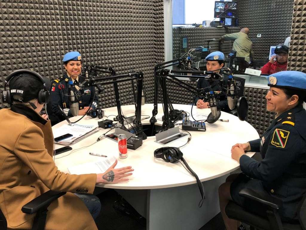 Las militares contaron sus historias. FOTO: El Heraldo de México