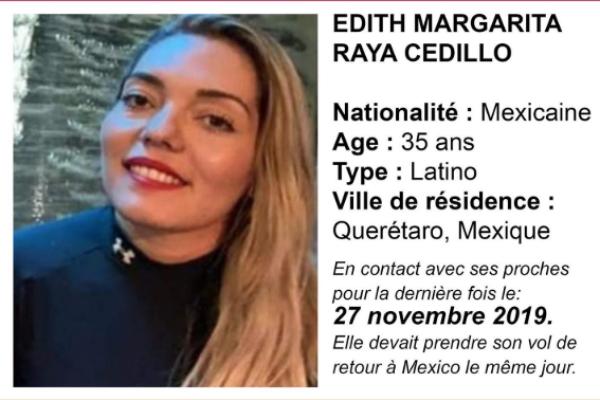 mexicana desaparecida paris francia
