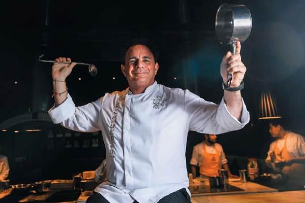 Es dueño y chef de cinco restaurantes, entre ellos Mélisse. Foto: Nayeli Cruz.