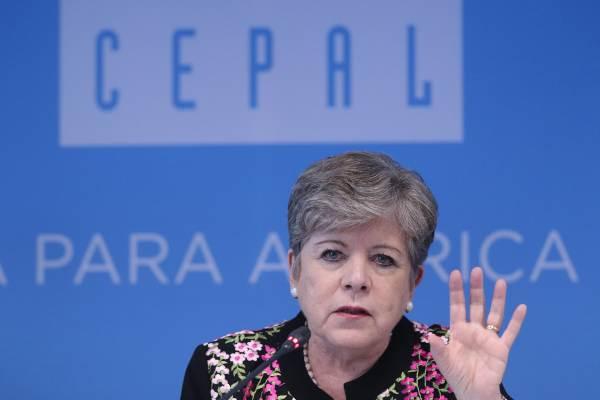 Alicia Bárcena comentó que México no está en una recesión económica. Foto: CUARTOSCURO