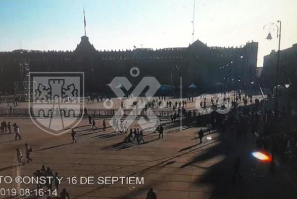 El Circuito Plaza de la Constitución permanecerá cerrado desde las 10 de la mañana. FOTO: Twitter