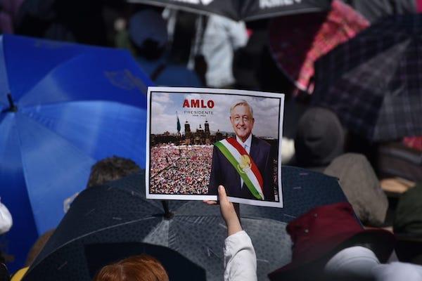 El presidente López Obrador ofreció un mensaje este 1 de diciembre con motivo de su primer año de gobierno. Foto: Daniel Ojeda
