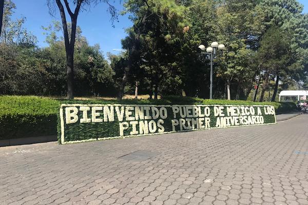 Los Pinos cumplen un año como Complejo Cultural de la 4T. Foto: Azaneth Cruz