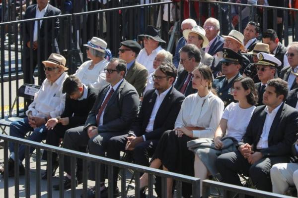 Jesús Ernesto, José Ramón, Andrés Manuel y Gonzalo Alfonso estuvieron en primera fila. Foto: Presidencia
