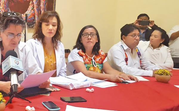 REBELIÓN MÉDICA. Los médicos argumentaron que el sistema de salud en la entidad vive claras deficiencias. Foto: Carina García