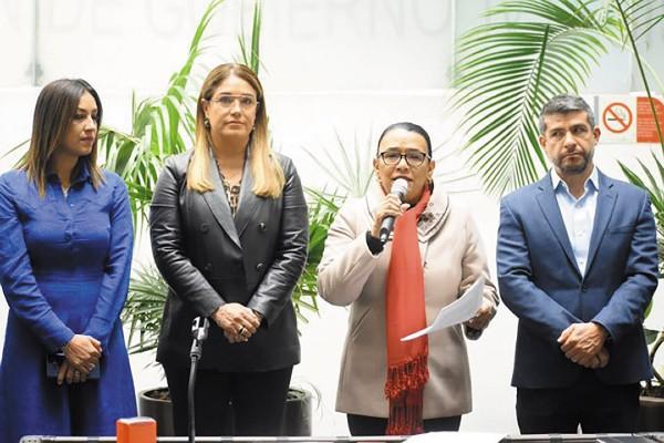 MEDIDA URGENTE. Rodríguez dijo que las mujeres son prioridad. Foto: Especial
