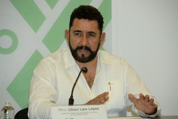 Ulises Lara, vocero de la PGJ, habla sobre caso de Laura Karen