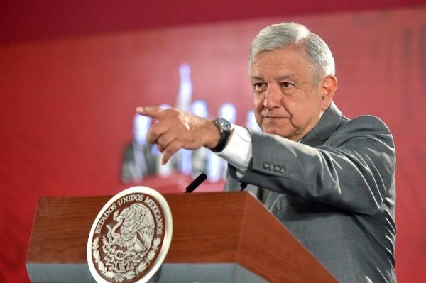 El presidente Andrés Manuel López Obrador confirmó el horario de la reunión. Foto: Presidencia