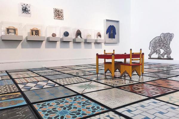 DISEÑO. La expo incluye piezas de decoración. Foto: Azaneth Cruz