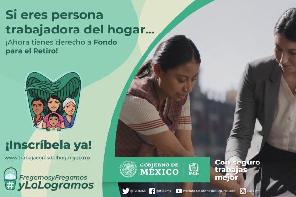 90 De Las Trabajadoras Del Hogar Son Mujeres Titular Del Imss