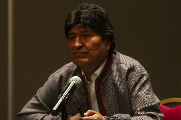 evo morales bolivia presidente