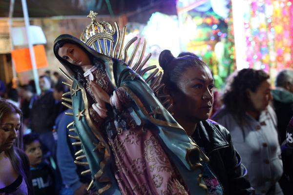 Reporte vial: Peregrinos se dirigen a la Basílica de Guadalupe