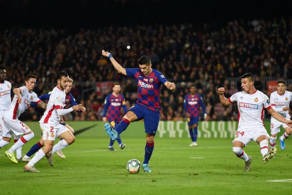 luis suarez gol barcelona vs mallorca