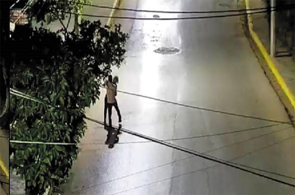 l DETENIDO. El sistema de videovigilancia alertó a la Policía.