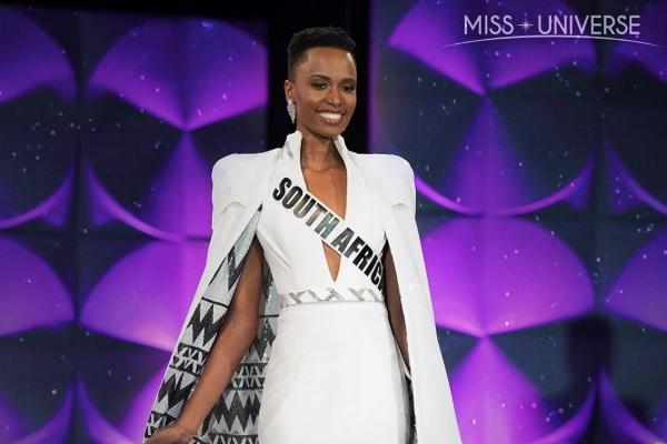Zizibini Tunzi, de Sudáfrica, ganó Miss universo 2019