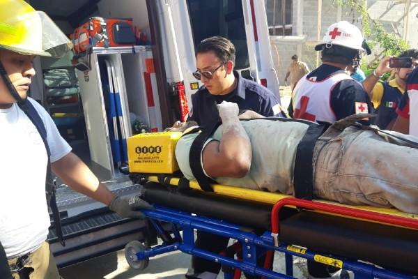 Tampico-heridos-derrumbe-construcción