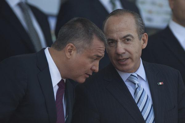 Felipe Calderón desconocía acusaciones contra García Luna