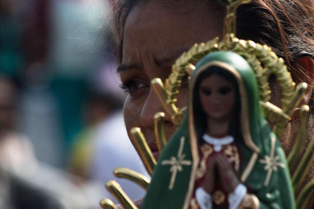 Devoción a la Virgen de Guadalupe. Foto: Cuartoscuro