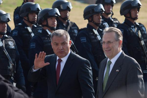 Genaro García Luna, exsecretario de Seguridad Pública Federal FOTO: MOISÉS PABLO/CUARTOSCURO.COM