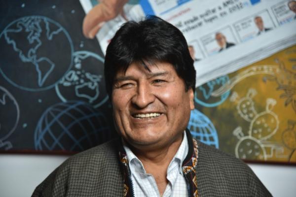 Evo Morales tiene asilo político en Argentina. Foto: Daniel Ojeda