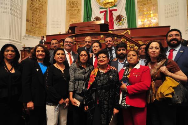 El pleno del Congreso de la Ciudad de México aprobó, casi por unanimidad, la designación de Ernestina Godoy Ramos como titular de la Fiscalía General de Justicia de la Ciudad de México. FOTO: CUARTOSCURO.COM