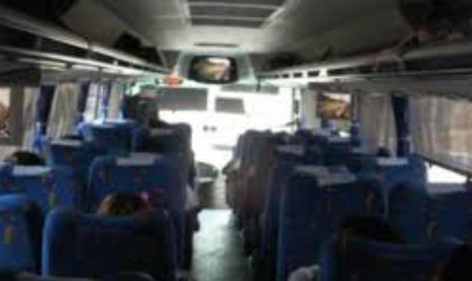Asalto estudiantes autobus