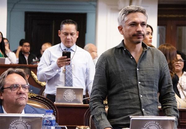 VECINOS PERO NO AMIGOS. Con su renuncia, Ricardo Ruiz (izq.) marcó su distancia de su compañero de partido José Luis Rodríguez (der.). Foto: Cuartoscuro