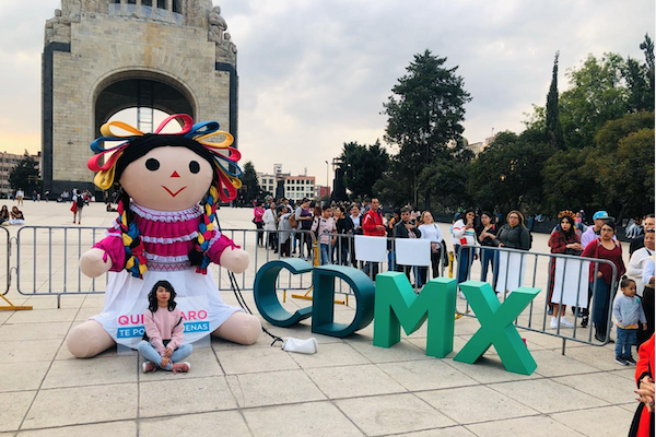 Primera Feria de la Muñeca Otomí en la CDMX