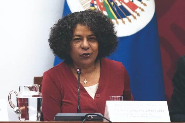 DEFENSA. La titular de Conavim da seguimiento a casos de mujeres victimadas. Foto: CUARTOSCURO