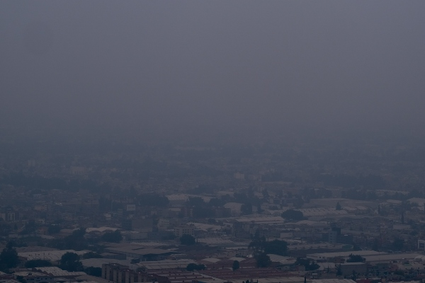 Mala calidad del aire. foto: Cuartoscuro