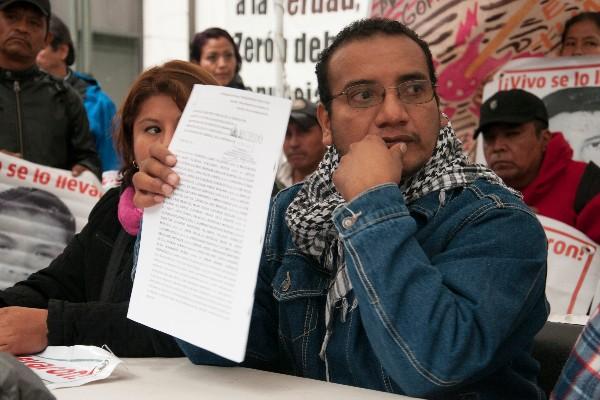 Vidulfo Rosales, abogado de los familiares de los 43 estudiantes normalistas, habla sobre los avances en la investigación